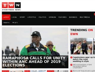 eyewitnessnews.co.za screenshot