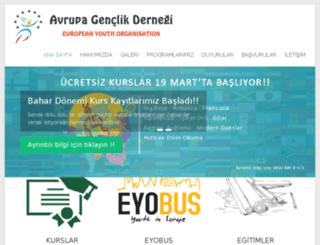 eyo.org.tr screenshot