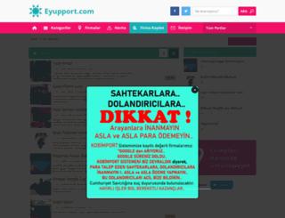 eyupport.com screenshot