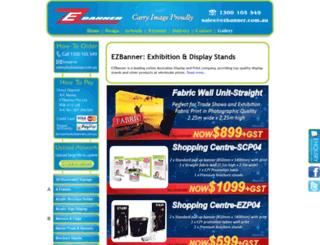 ezbanner.com.au screenshot