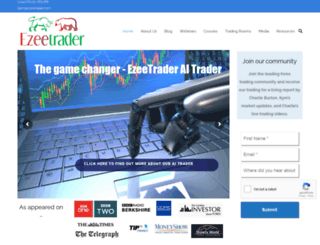 ezeetrader.com screenshot