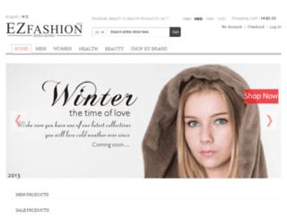 ezfashion.net screenshot