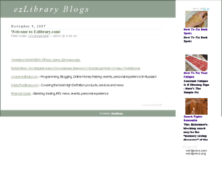 ezlibrary.com screenshot