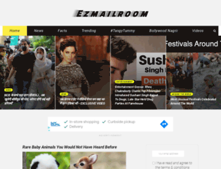 ezmailroom.com screenshot