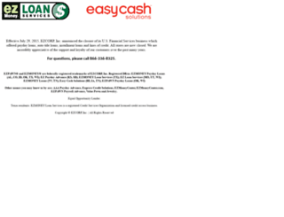 ezmoney.com screenshot