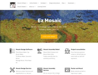 ezmosaic.com screenshot