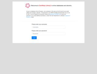 ezproxy.castilleja.org screenshot