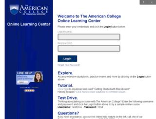 ezproxy.theamericancollege.edu screenshot