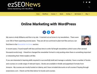 ezseonews.com screenshot