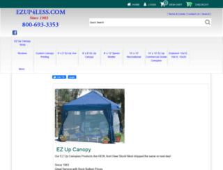 ezup4less.com screenshot