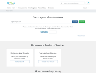 ezvalu.com screenshot