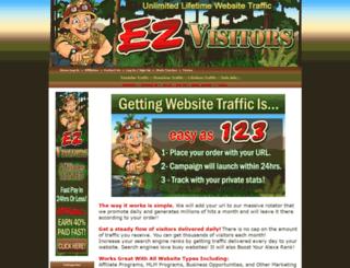 ezvisitors.com screenshot