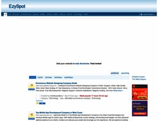 ezyspot.com screenshot