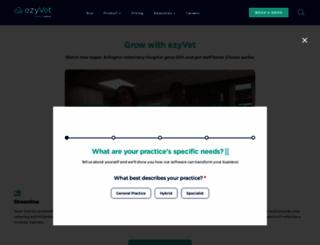 ezyvet.com screenshot
