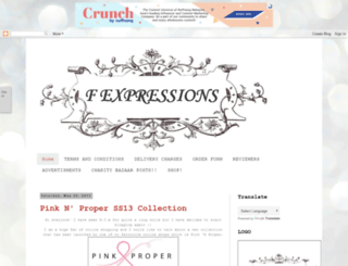 f-expressions.blogspot.com screenshot