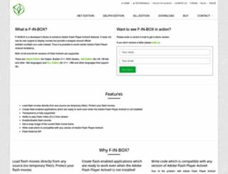 f-in-box.com screenshot