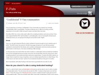 f-pats.com screenshot