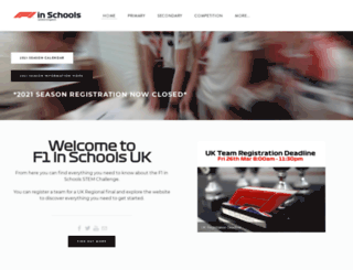 f1inschools.co.uk screenshot