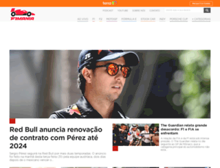 f1mania.lance.com.br screenshot