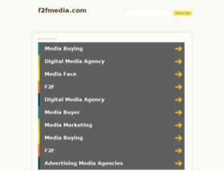 f2fmedia.com screenshot