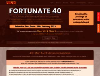f40.fiitjee.com screenshot
