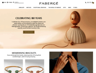 faberge.com screenshot