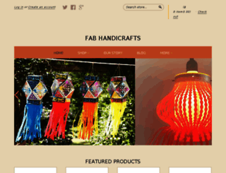 fabhandicrafts.com screenshot