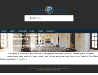 fabianmeyer.com screenshot