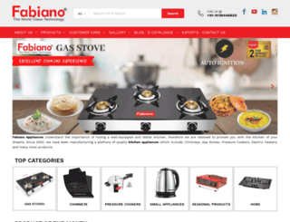 fabianoappliances.com screenshot