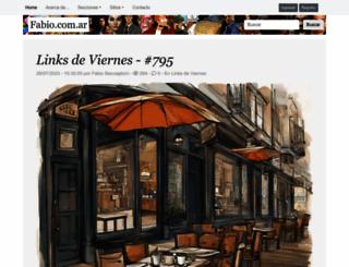 fabio.com.ar screenshot