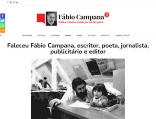 fabiocampana.com.br screenshot