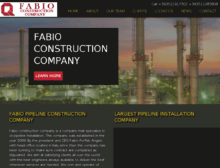fabioconstruction.com screenshot