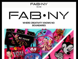 fabny.com screenshot
