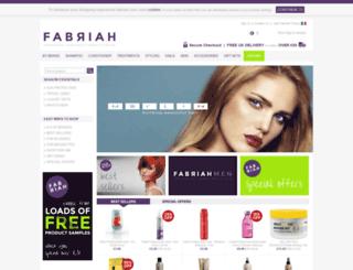 fabriah.com screenshot