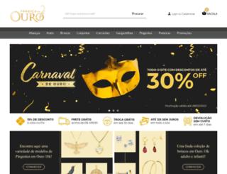 fabricadoouro.com.br screenshot