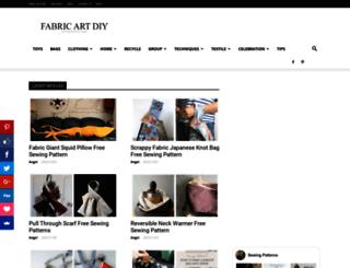 fabricartdiy.com screenshot