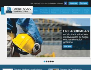 fabricasas.com screenshot