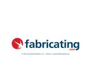 fabricating.com screenshot