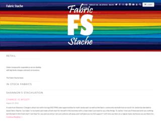 fabricstacheshop.com screenshot