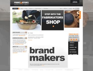 fabrikators.com screenshot