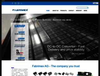 fabrimex.com screenshot