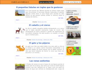fabulascortas3.com screenshot