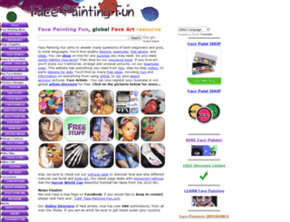 face-painting-fun.com screenshot