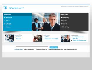 facebars.com screenshot