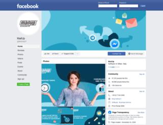 facebook.mailup.it screenshot