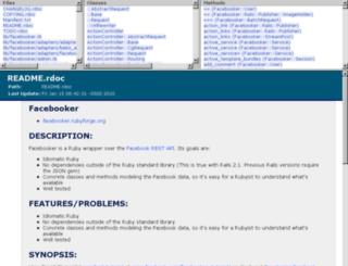 facebooker.rubyforge.org screenshot