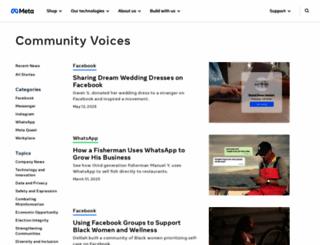 facebookstories.com screenshot