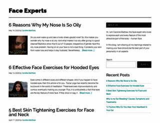 faceexercisesblog.com screenshot