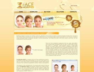facemorpher.com screenshot