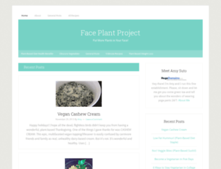 faceplantproject.com screenshot